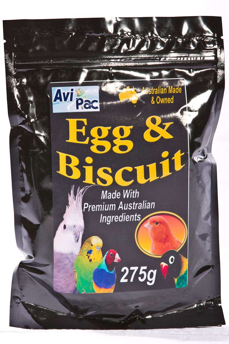 Avi Pac Egg & Biscuit Vanilla