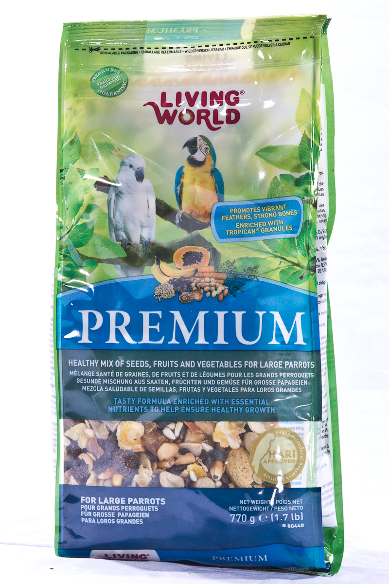 Living World Premium Large Parrot Mix