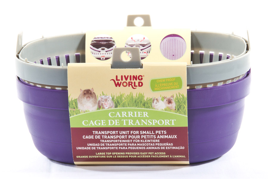 312d4466a9e Pets Love Zone - Living World Small Animal Carrier Small - Pets Love ...