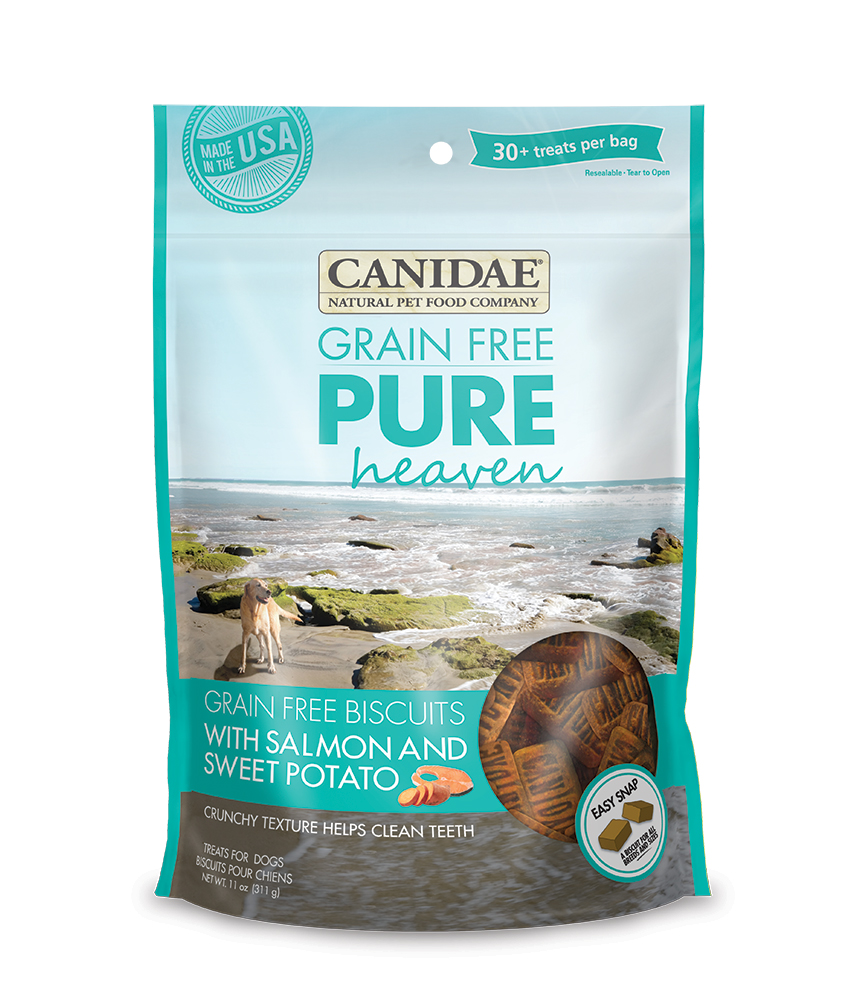 Canidae Grain Free Biscuits with Salmon and Sweet Potato Dog Treat