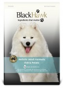 Black Hawk Dog Adult Fish and Potato