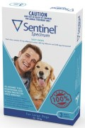 Sentinel Spectrum for Large Dogs