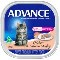 Advance Kitten Chicken and Salmon Medley Wet Food