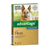 advantage dog extra large blue