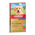 advantix dog extra large blue