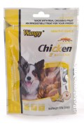 Dog Wanpy Chicken Jerky with Banana