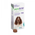 bravecto medium dog green