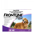 frontline plus large dog purple