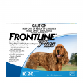 frontline plus medium dog blue