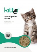 Kitter Wood Pellet Cat Litter