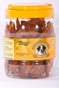 Wanpy Dry Chicken Jerky Strips Jar