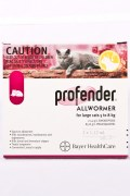 Profender Large Cat Wormers