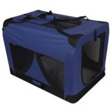 Comfort Soft Collapsible Crate Dark Blue Small