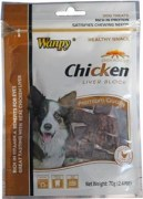 Wanpy Chicken Liver Blocks Dog Treat