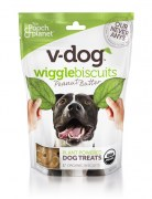 V-Dog Wiggle Biscuits Peanut Butter